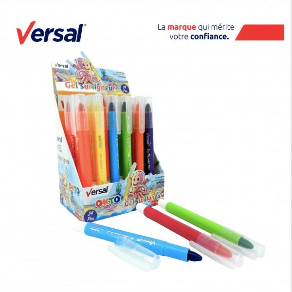 Surligneurs en gel, couleurs VERSAL Réf.118001