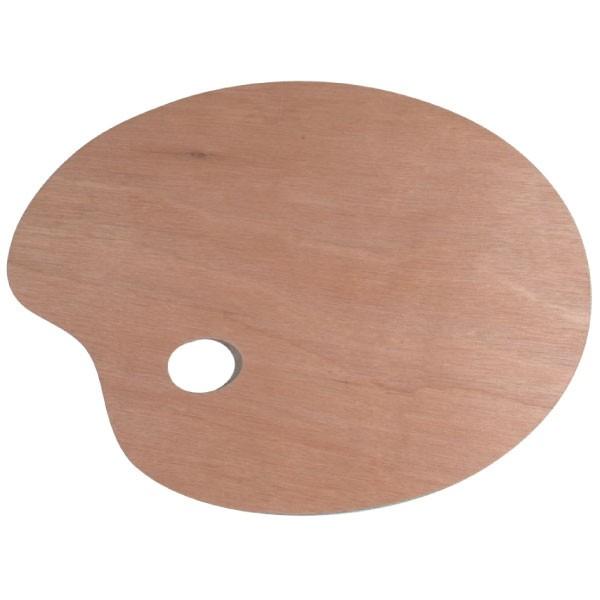 Palette peinture en bois