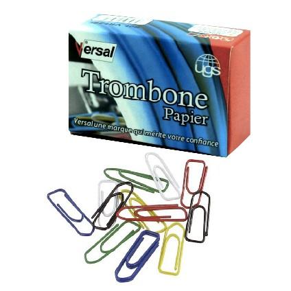 Trombone Papier N28 Couleur  VERSAL Réf-vr728C