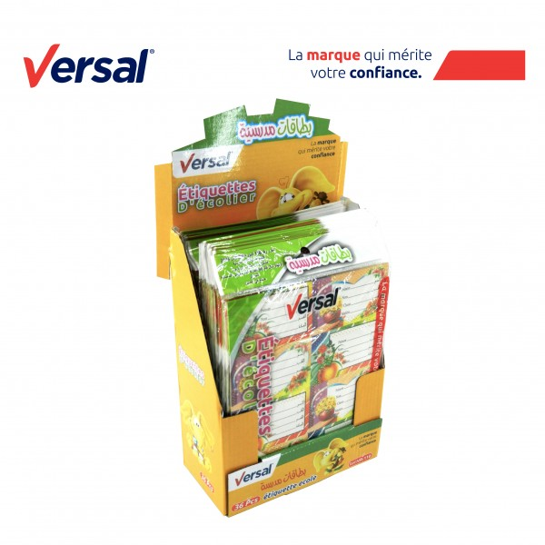 Étiquette Écolier Autocollante VERSAL Réf.VR110