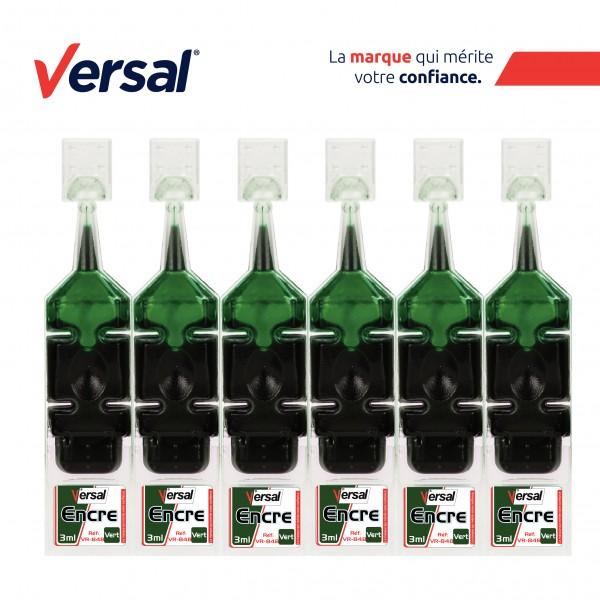 Encre Permanente VERSAL Vert Réf-VR848