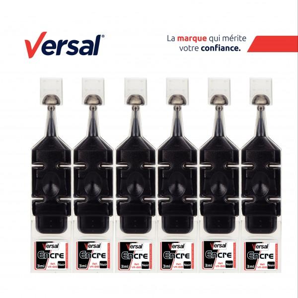 Encre Permanente VERSAL Noir Réf-VR818